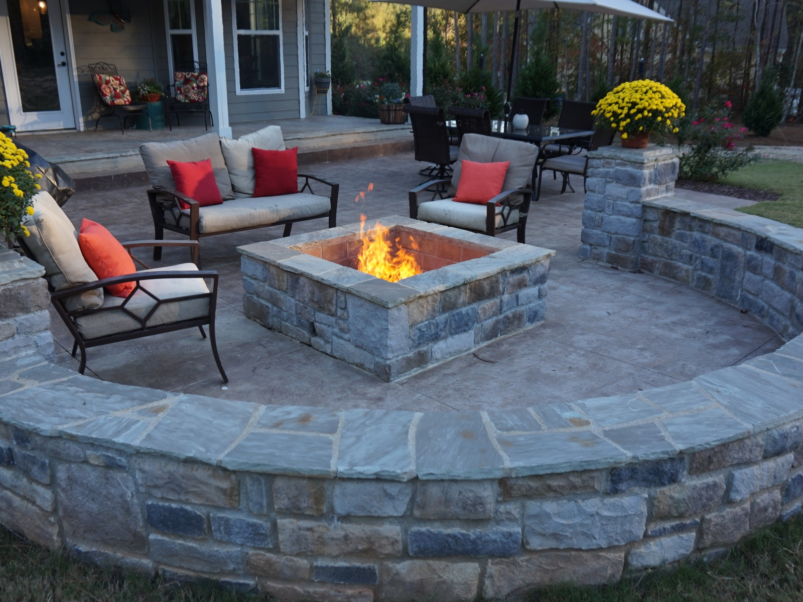 Fire Pit Install - Adanco Services